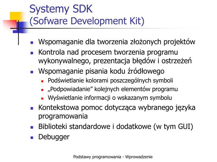 Systemy SDK