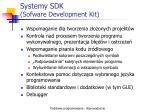 systemy sdk sofware development kit