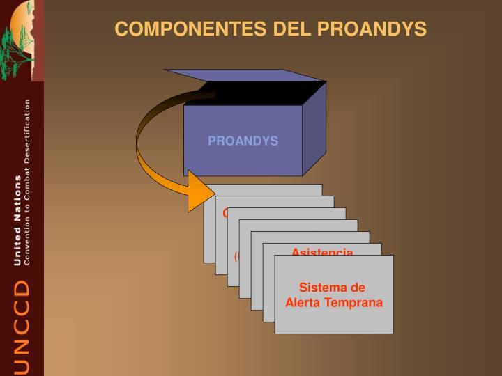 COMPONENTES DEL PROANDYS