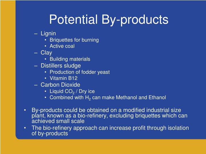 Potential By-products