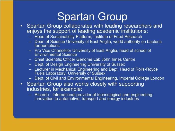 Spartan Group