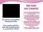 the tops las chapas