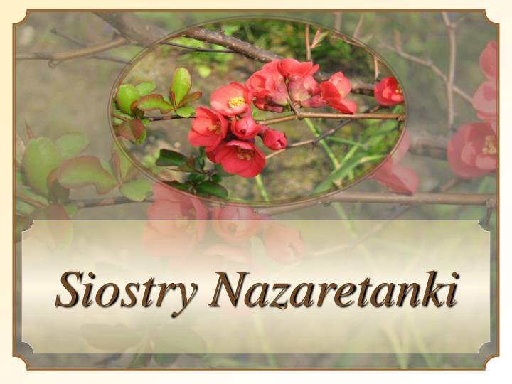 Siostry Nazaretanki