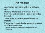 air masses1