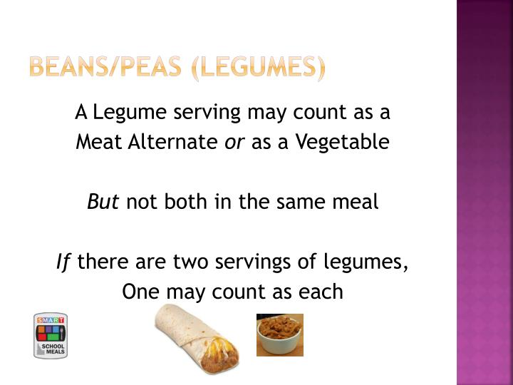 BEANS/peas (legumes)