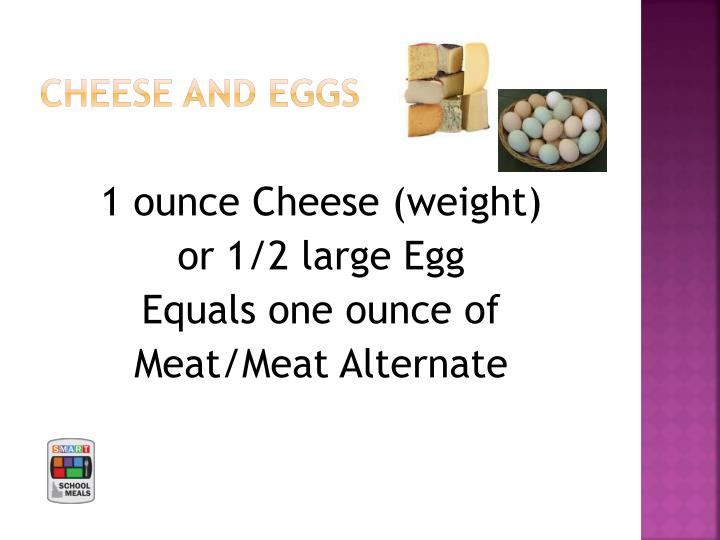 CHEESE and EGGS