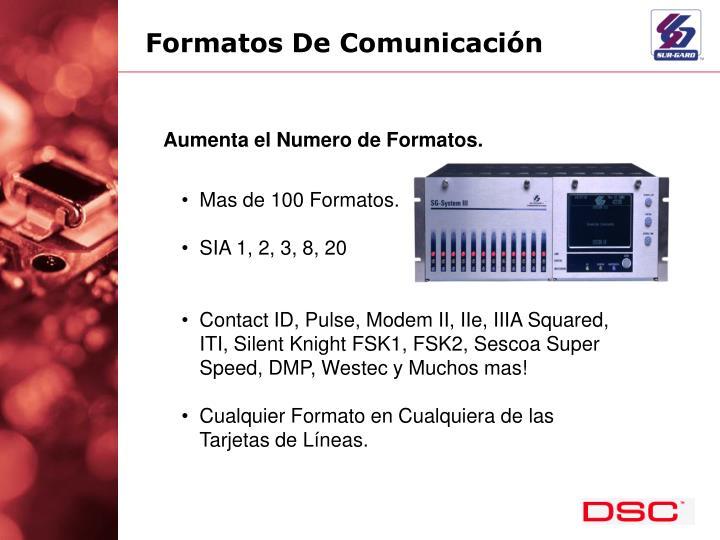 Formatos De Comunicación