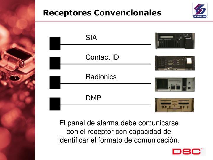 Receptores Convencionales