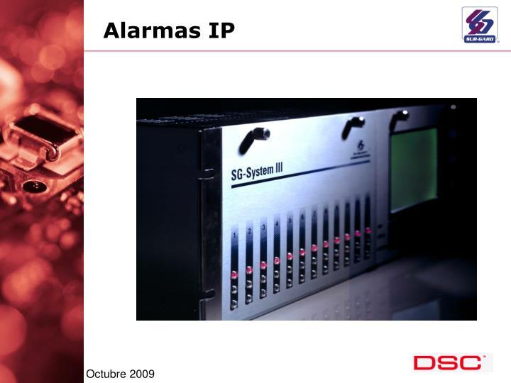 Alarmas IP