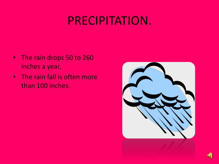 PRECIPITATION.