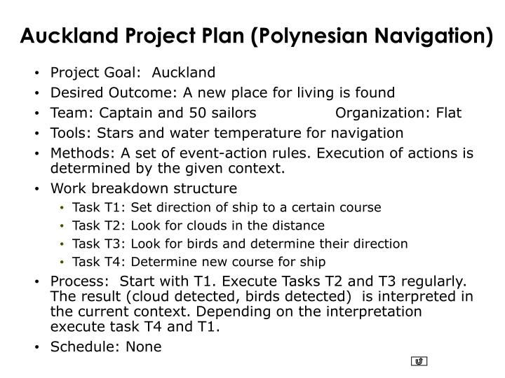 Auckland Project Plan (Polynesian Navigation)