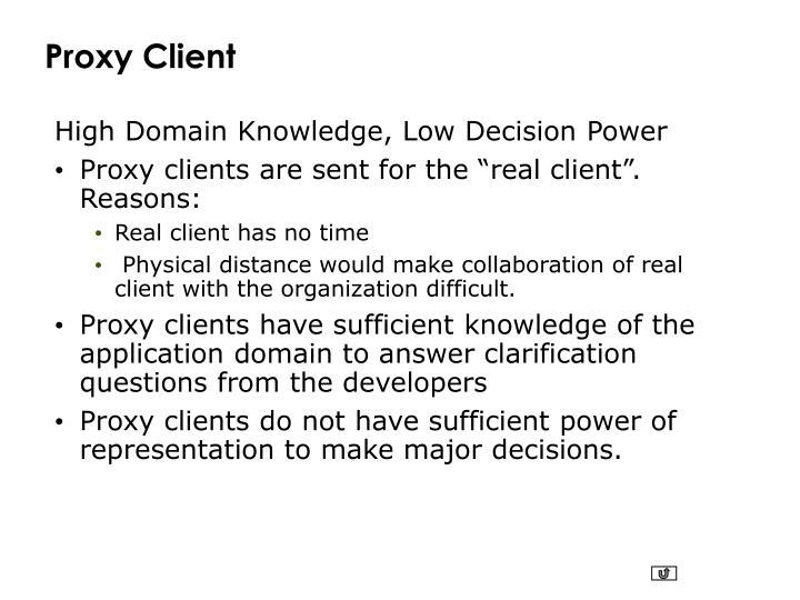 Proxy Client