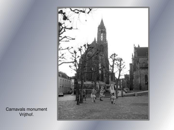 Carnavals monument