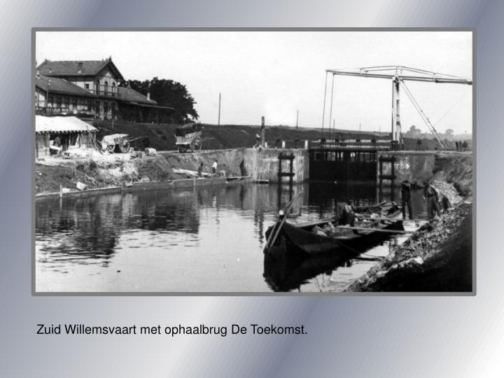 Zuid Willemsvaart met ophaalbrug De Toekomst.