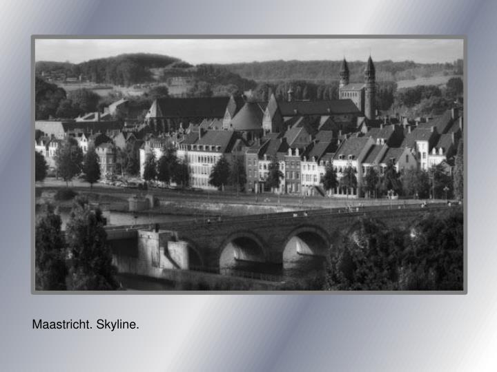 Maastricht. Skyline.