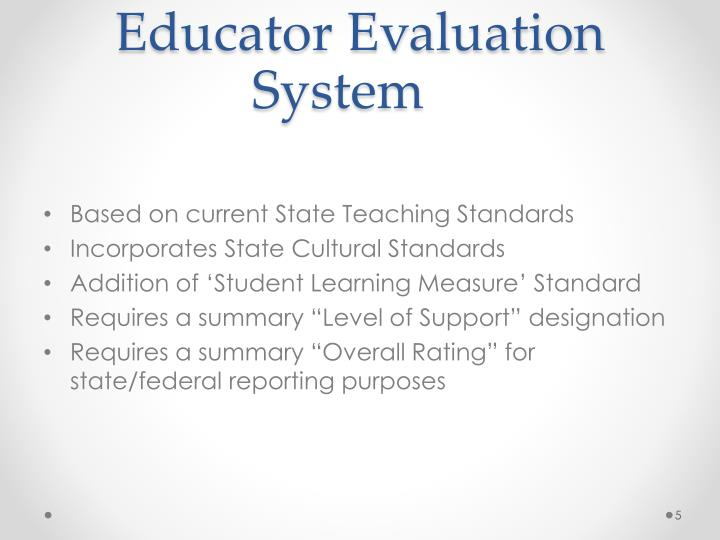 Educator Evaluation System