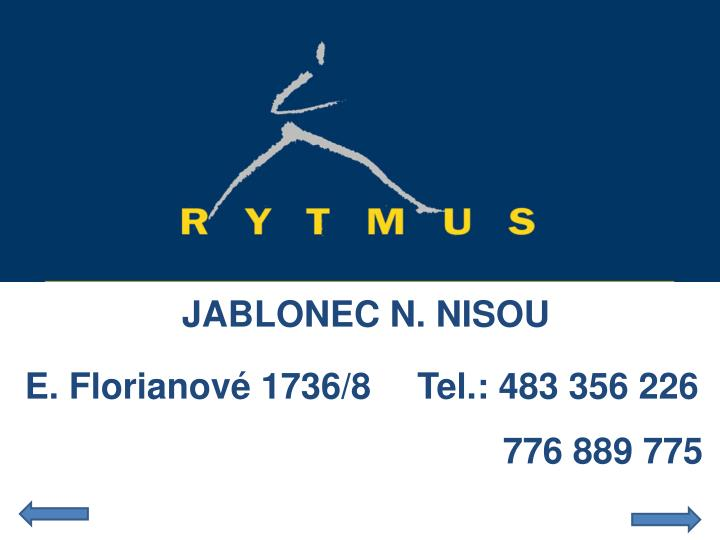 JABLONEC N. NISOU