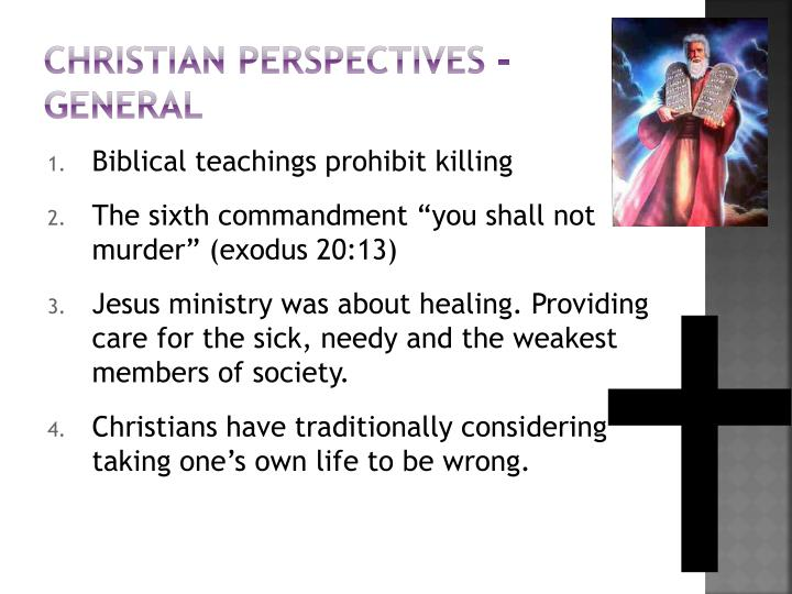 Christian perspectives - general