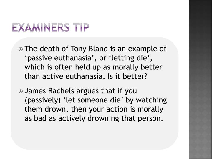 Examiners tip