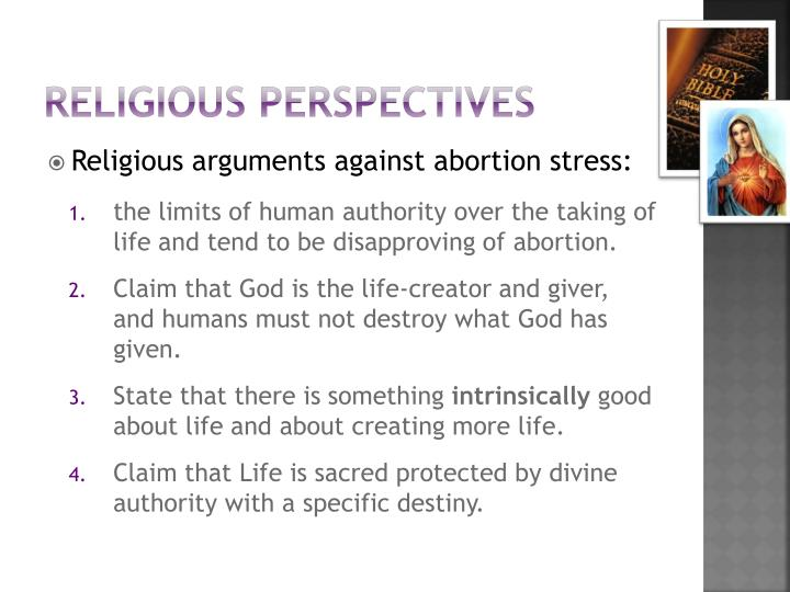Religious perspectives