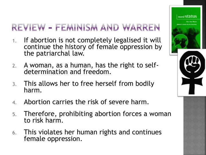 Review – feminism and warren