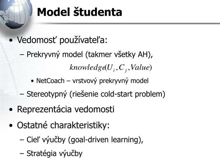 Model študenta