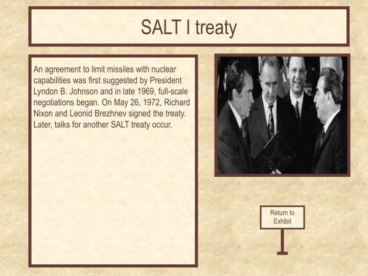 SALT I treaty