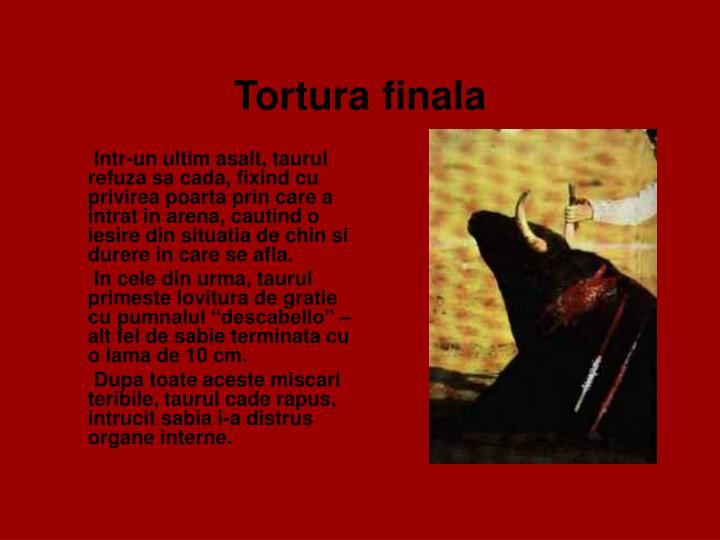 Tortura finala