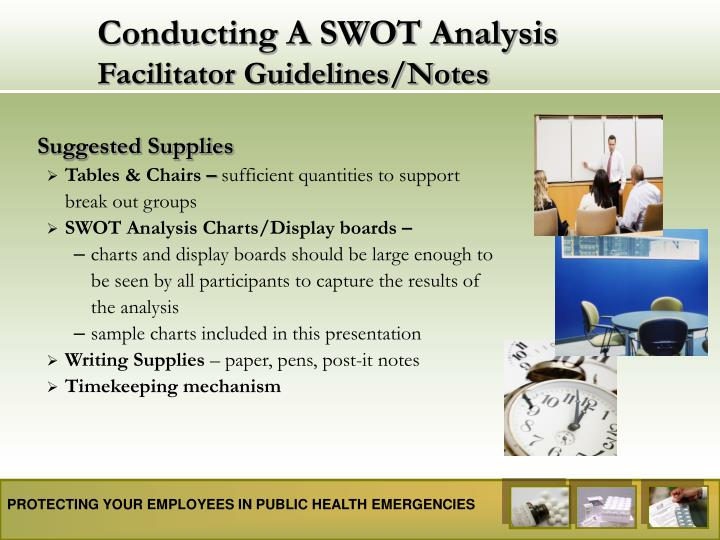 Conducting a swot analysis facilitator guidelines notes