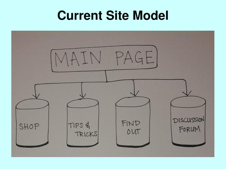 Current Site Model