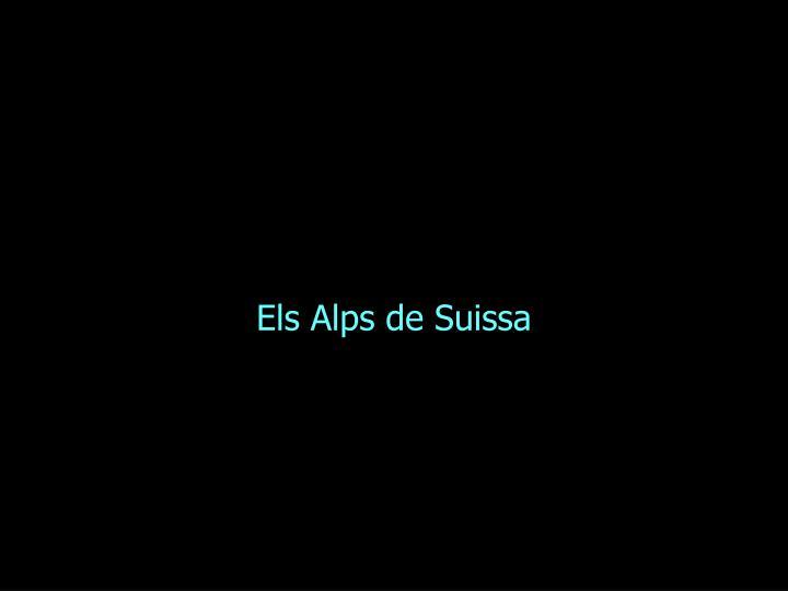 Els Alps de Suissa