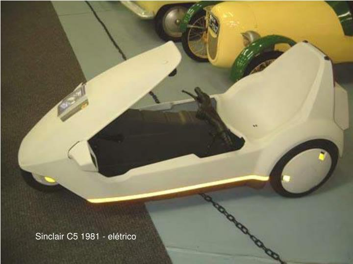 Sinclair C5 1981 - eltrico
