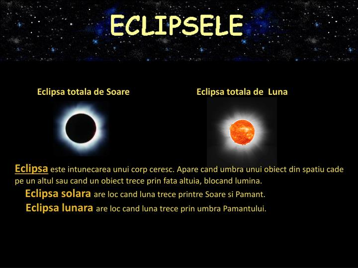Eclipsa totala de Soare