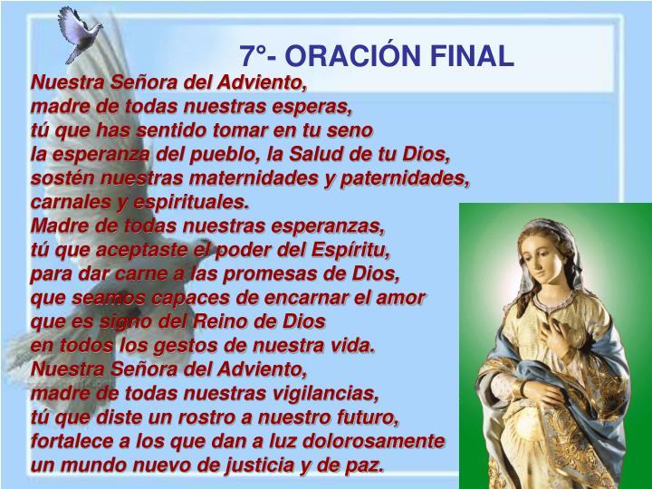Nuestra Señora del Adviento,
