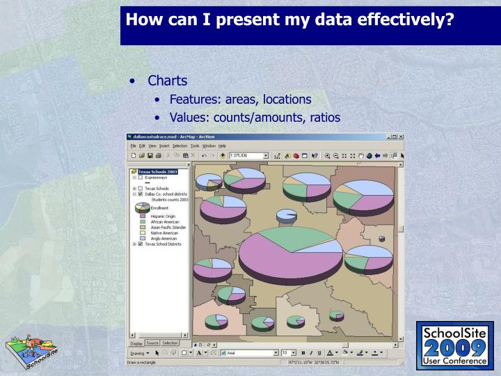How can I present my data effectively?