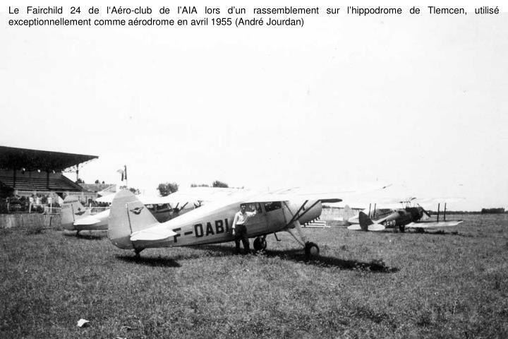 Le Fairchild 24 de l