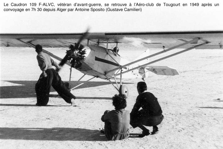 Le Caudron 109 F-ALVC, vétéran d