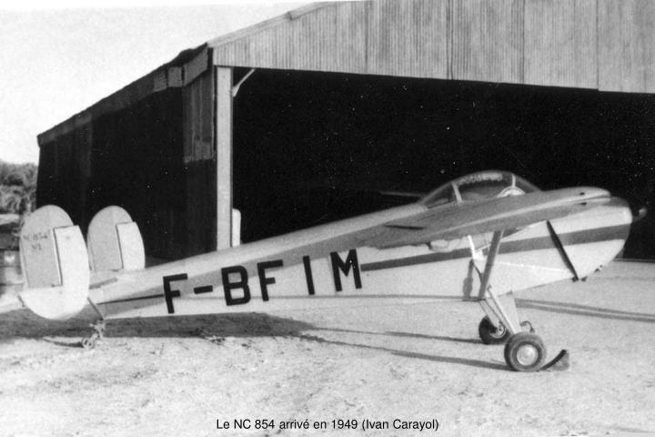 Le NC 854 arrivé en 1949 (Ivan Carayol)