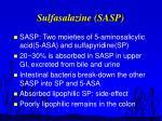 sulfasalazine sasp
