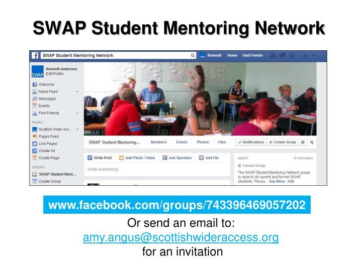 SWAP Student Mentoring Network