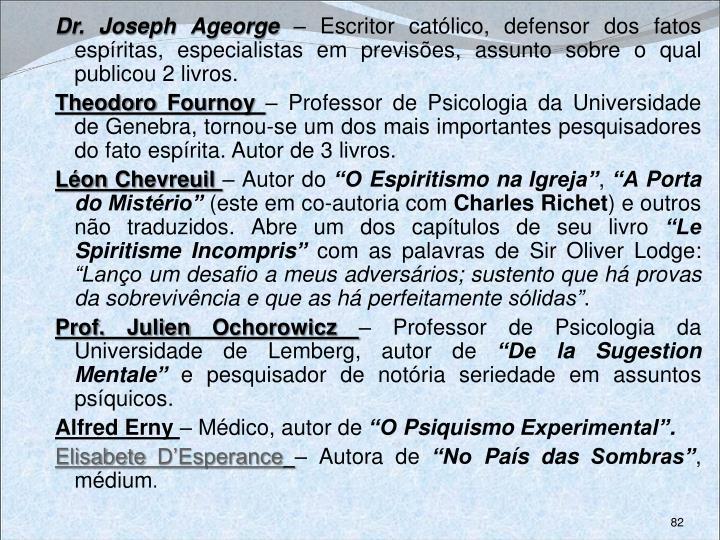 Dr. Joseph