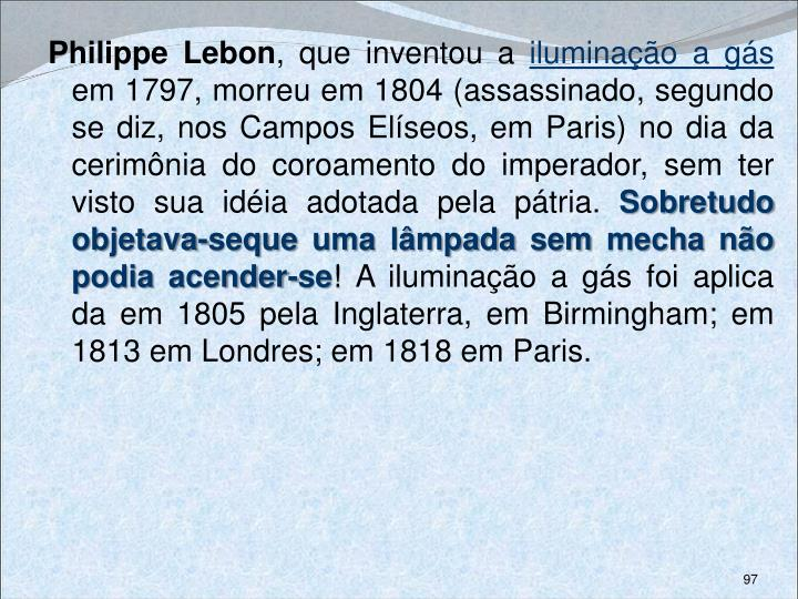 Philippe Lebon