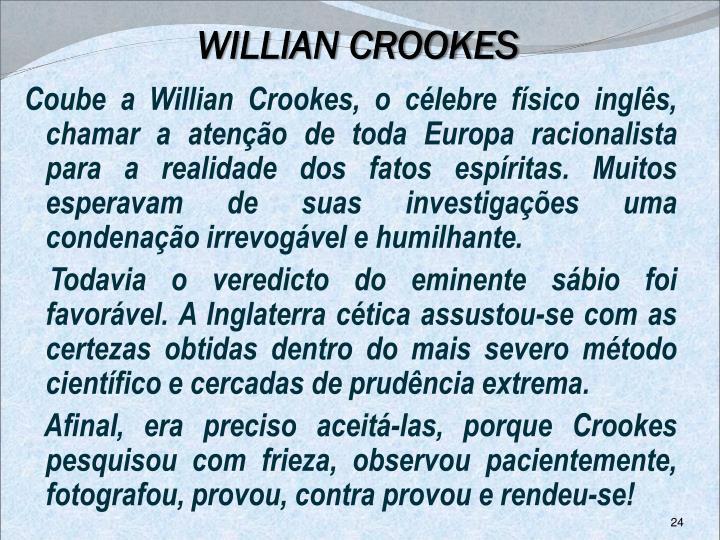 WILLIAN CROOKES