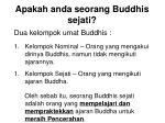apakah anda seorang buddhis sejati10