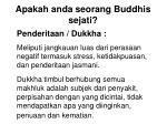 apakah anda seorang buddhis sejati12