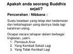 apakah anda seorang buddhis sejati16