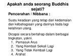 apakah anda seorang buddhis sejati17