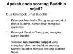 apakah anda seorang buddhis sejati19