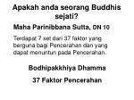 apakah anda seorang buddhis sejati21