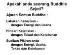 apakah anda seorang buddhis sejati28